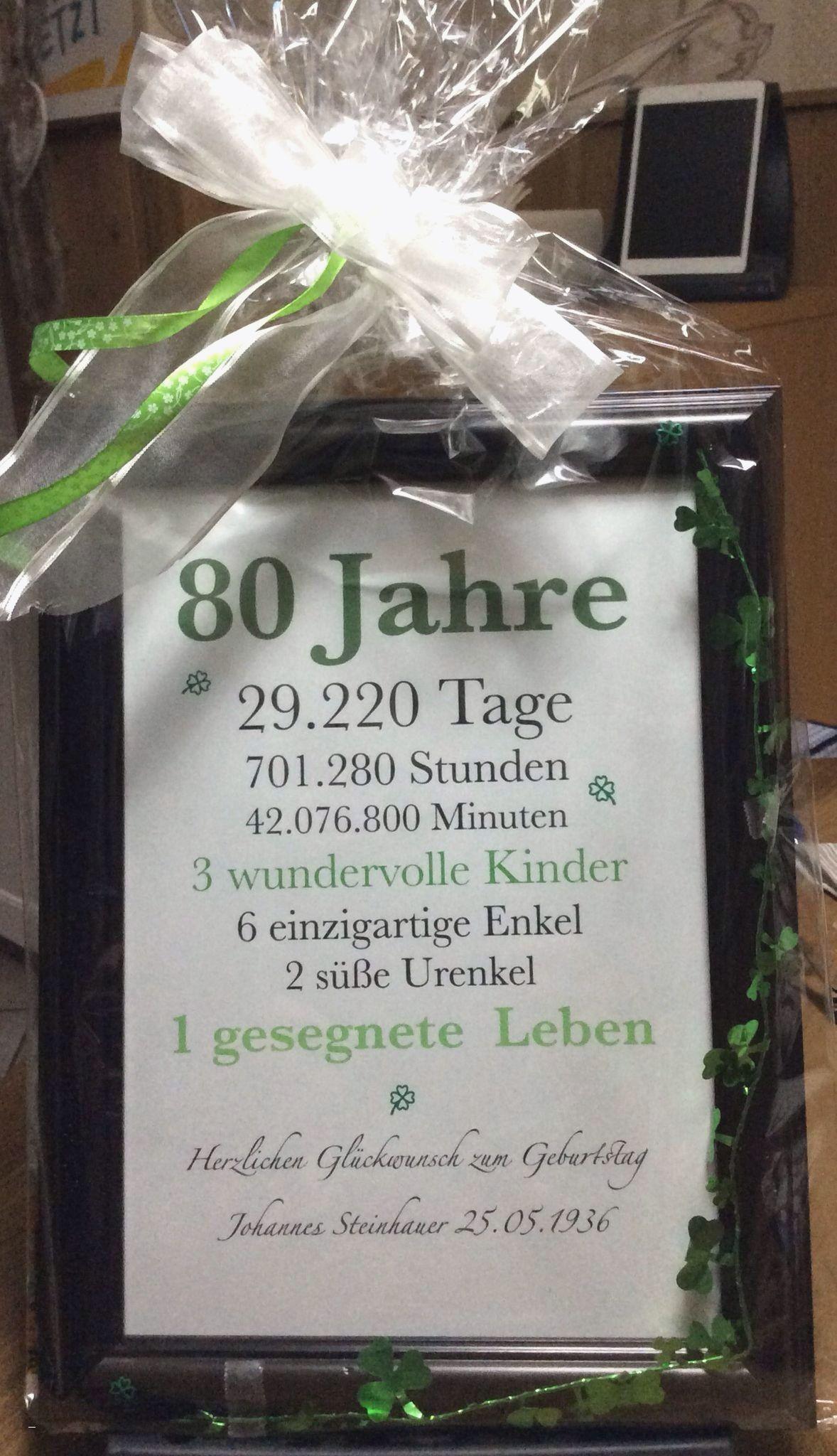 Geschenke Zum 60. Geburtstag Mutter  Geburtstag Opa Karte