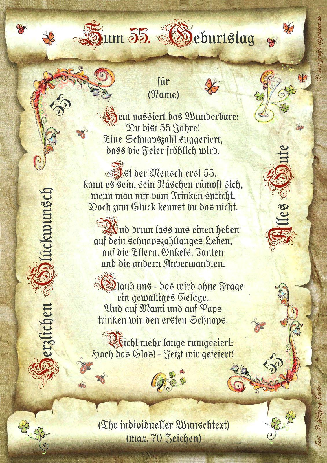 Geschenke Zum 60. Geburtstag Mutter  Geschenk Zum 50 Geburtstag Vater Selber Machen