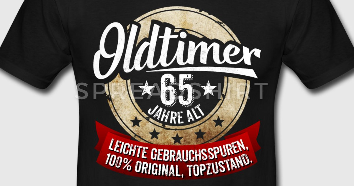 Geschenke Zum 65  Zum 65 Geburtstag T Shirt