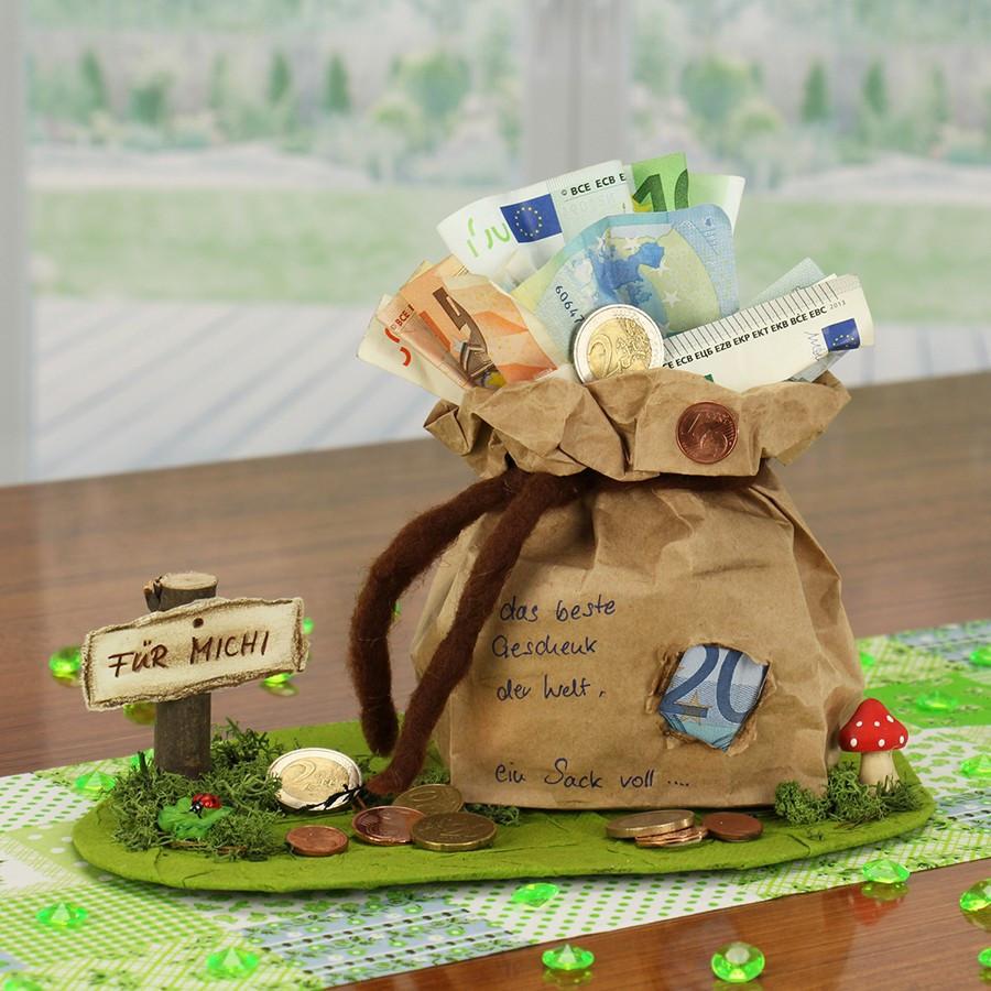 Geschenke Zum 65  Geldgeschenke Geburtstag selber basteln