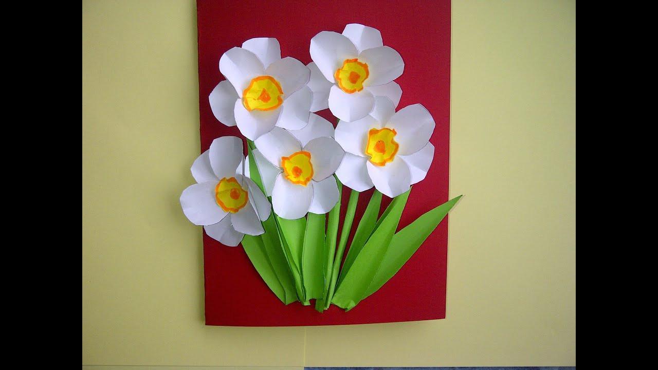 Geschenke Zum Muttertag Basteln  Ideen Schöne Geschenke zum Muttertag 3D Blumenkarten