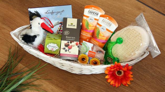 Geschenkideen Für Die Mutter  Weiteres Geschenkidee Geschenkkorb Geburt für Mutter