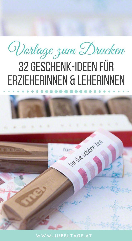 Geschenkideen Für Lehrer  104 best Geschenke für Lehrer images on Pinterest
