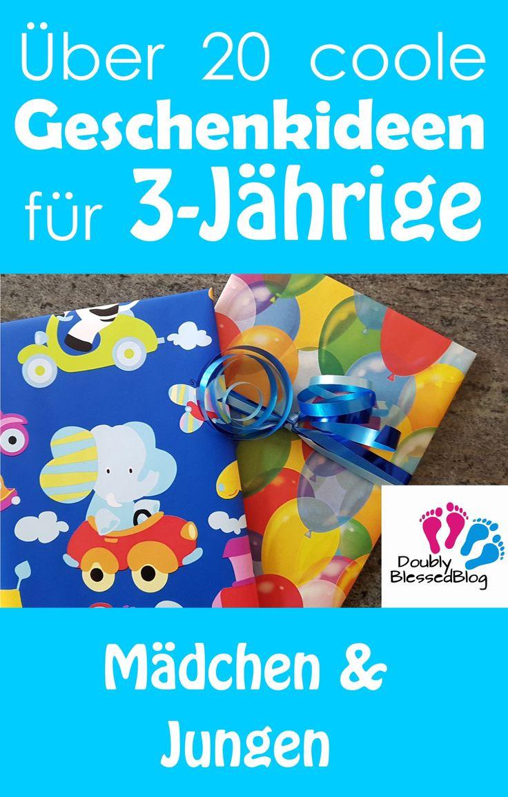 Geschenkideen Für Mädchen 8 Jahre  Geschenkideen für 3 jährige Mädchen und Jungen