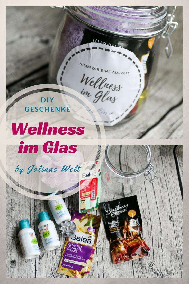 Geschenkideen Lehrer  Wellness im Glas mit kostenloser Vorlage