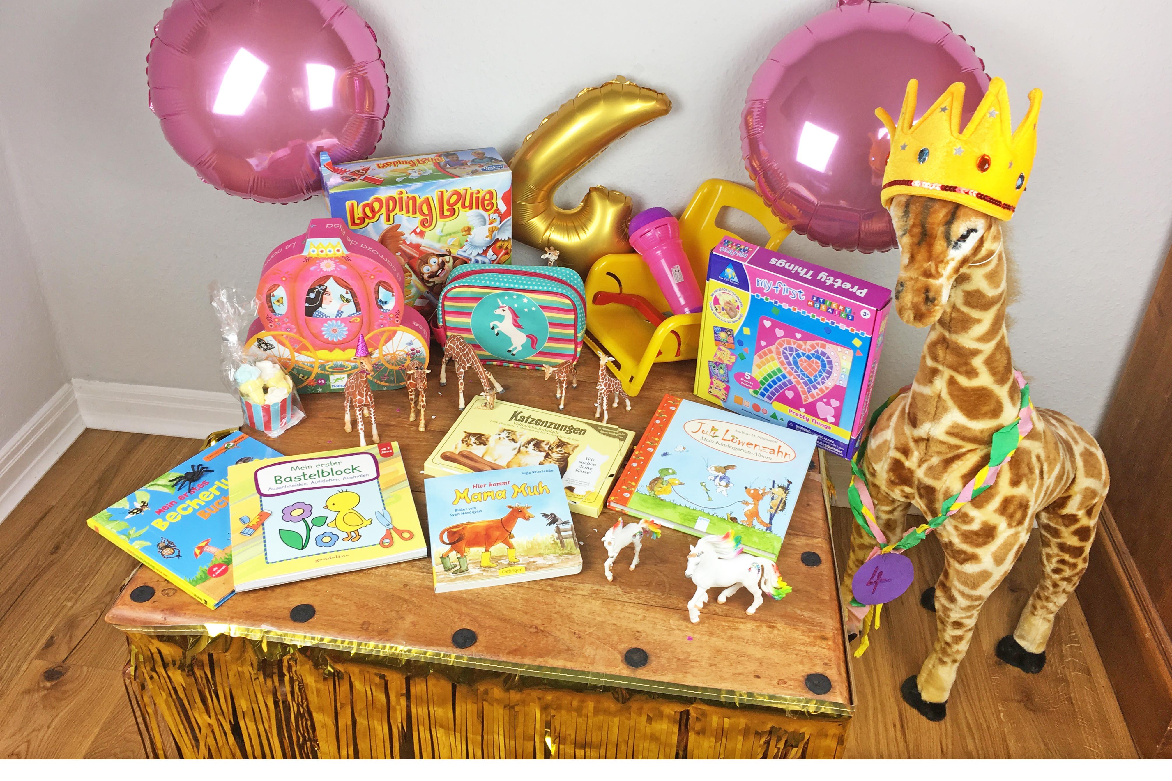 Geschenkideen Mädchen 4 Jahre  Schöne Geschenke zum 4 Geburtstag Mädchenmutter