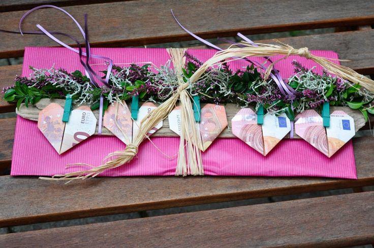 Geschenkideen Mit Fotos Zum Selbermachen  Geld Geschenk Idee zum Selbermachen gesucht Speziell für