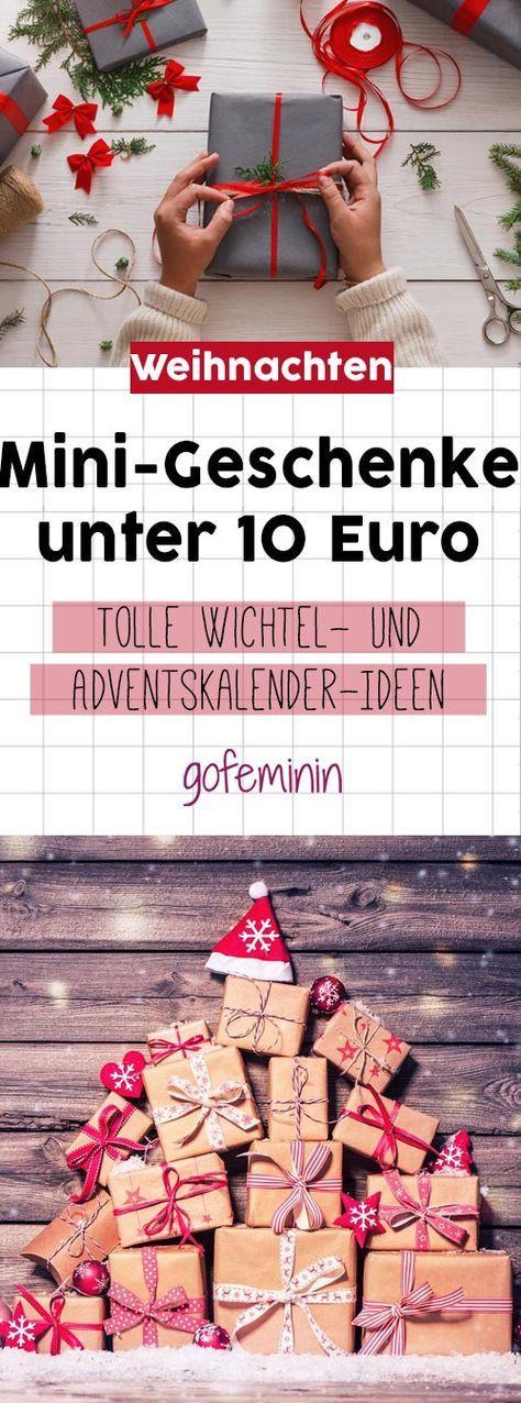 Geschenkideen Wichteln  Alles unter 10 Euro Kleine Geschenke für den