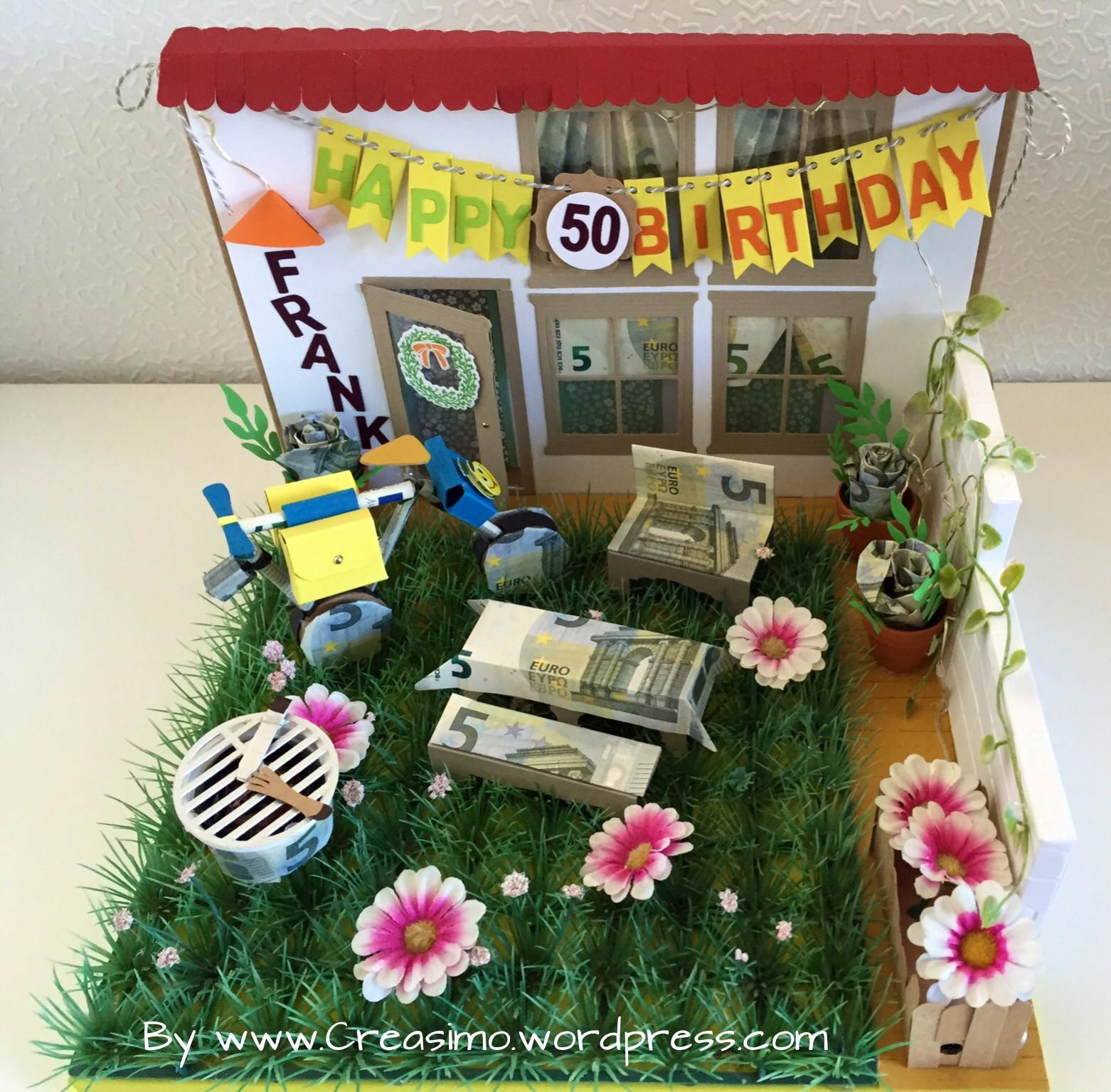 Geschenke Zum 50 Geburtstag Selber Basteln