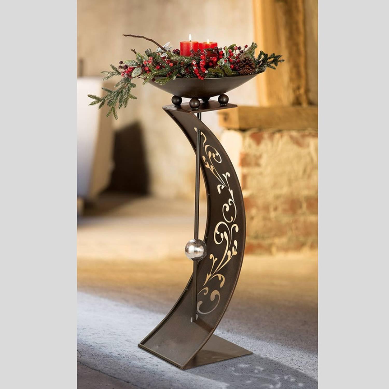 Gilde Handwerk  Gilde Handwerk Schalenständer Rankenwoge aus Metall 129 95
