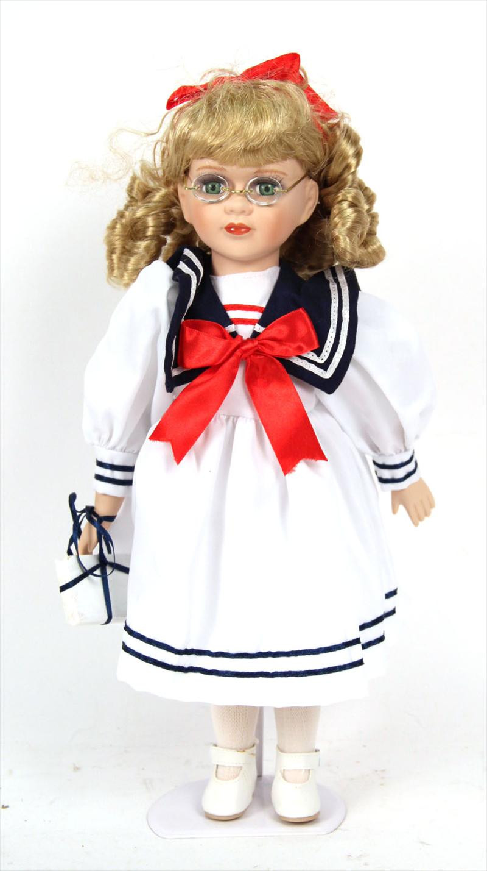 "Gilde Handwerk  iGavel Auctions Gilde Handwerk ""Puppenstube"" Doll German"