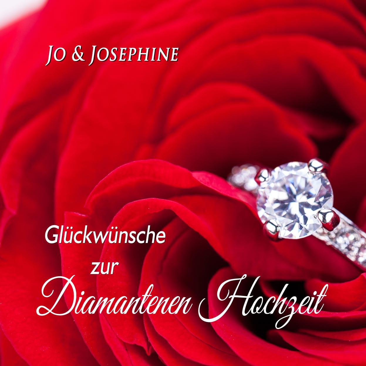 """Glückwunsch Zur Diamantenen Hochzeit  """"Glückwünsche zur Diamantenen Hochzeit"""" Lied als MP3"""