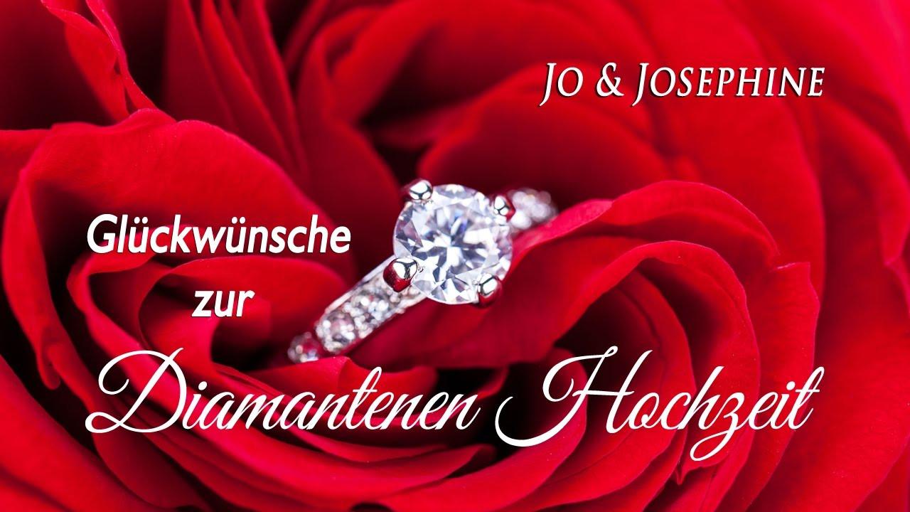 Glückwunsch Zur Diamantenen Hochzeit  Glückwünsche zur Diamantenen Hochzeit