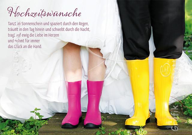 Glückwünsche Zur Hochzeit Grafikwerkstatt  Hochzeitswünsche Doppelkarten Grafik Werkstatt