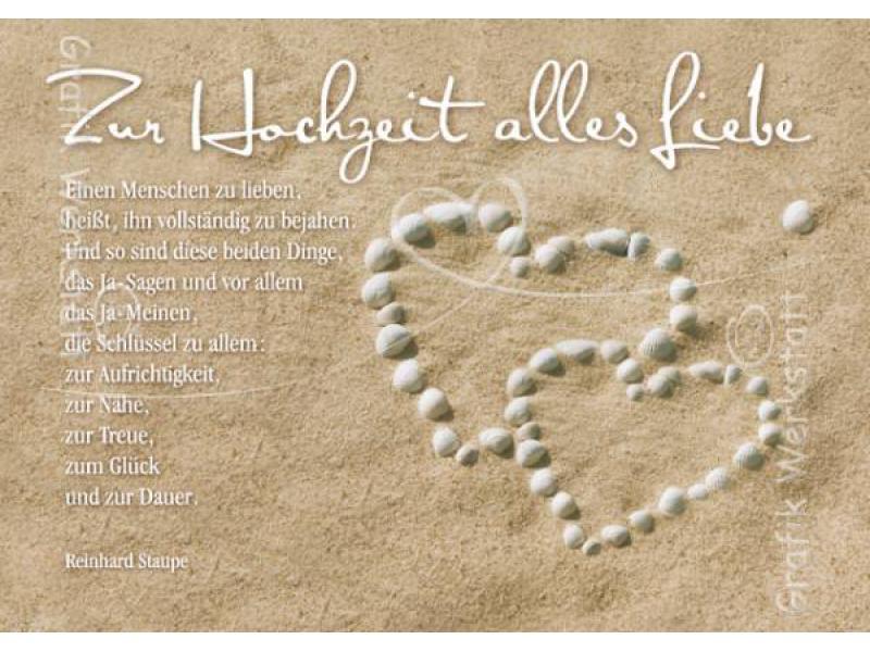 Glückwünsche Zur Hochzeit Grafikwerkstatt  Doppelkarte Zur Hochzeit al Grafik Werkstatt