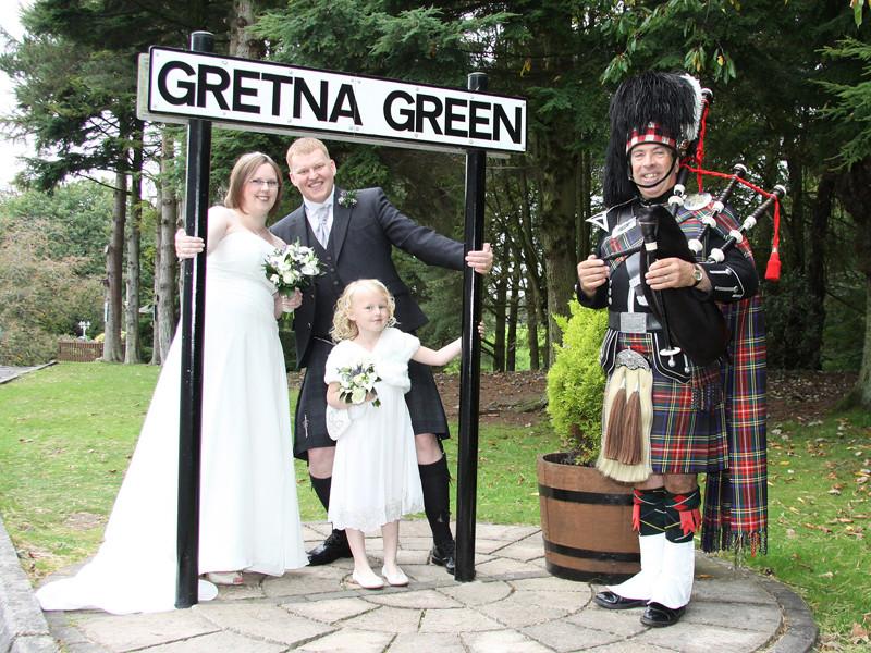 Gretna Green Hochzeit  Gretna Hall Blacksmiths Gretna Green Weddings