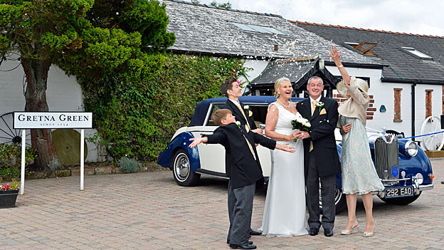 Gretna Green Hochzeit  International Schottland vor historischem Entscheid Die