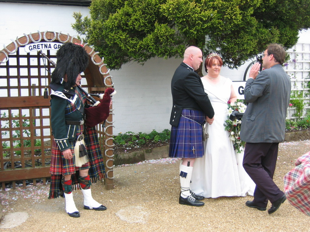 Gretna Green Hochzeit  Married at Gretna Green