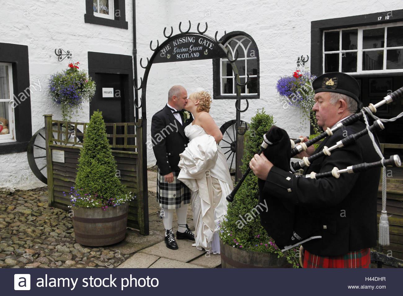Gretna Green Hochzeit  Großbritannien Schottland Dumfries und Galloway Gretna