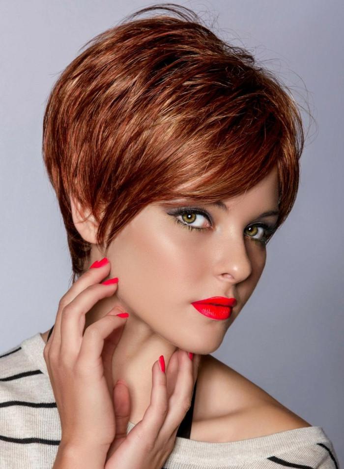 Haare Frisuren  Frisuren kurze Haare eine gute Wahl oder eher nicht