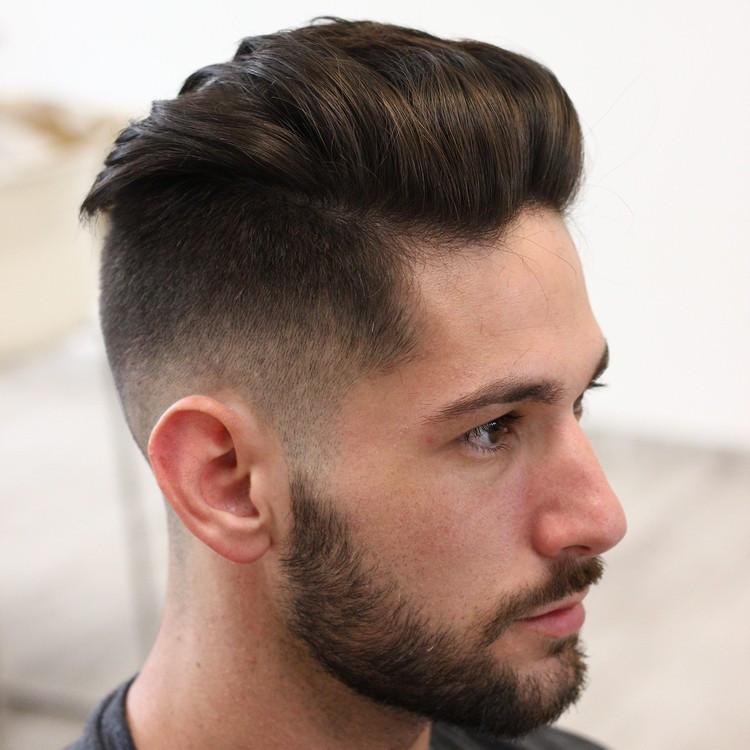 Haarschnitt Ohne Übergang  50 Ideen wie Sie den modernen Undercut mit Übergang
