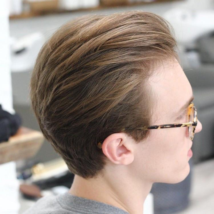 Haarschnitt Übergang  50 Ideen wie Sie den modernen Undercut mit Übergang