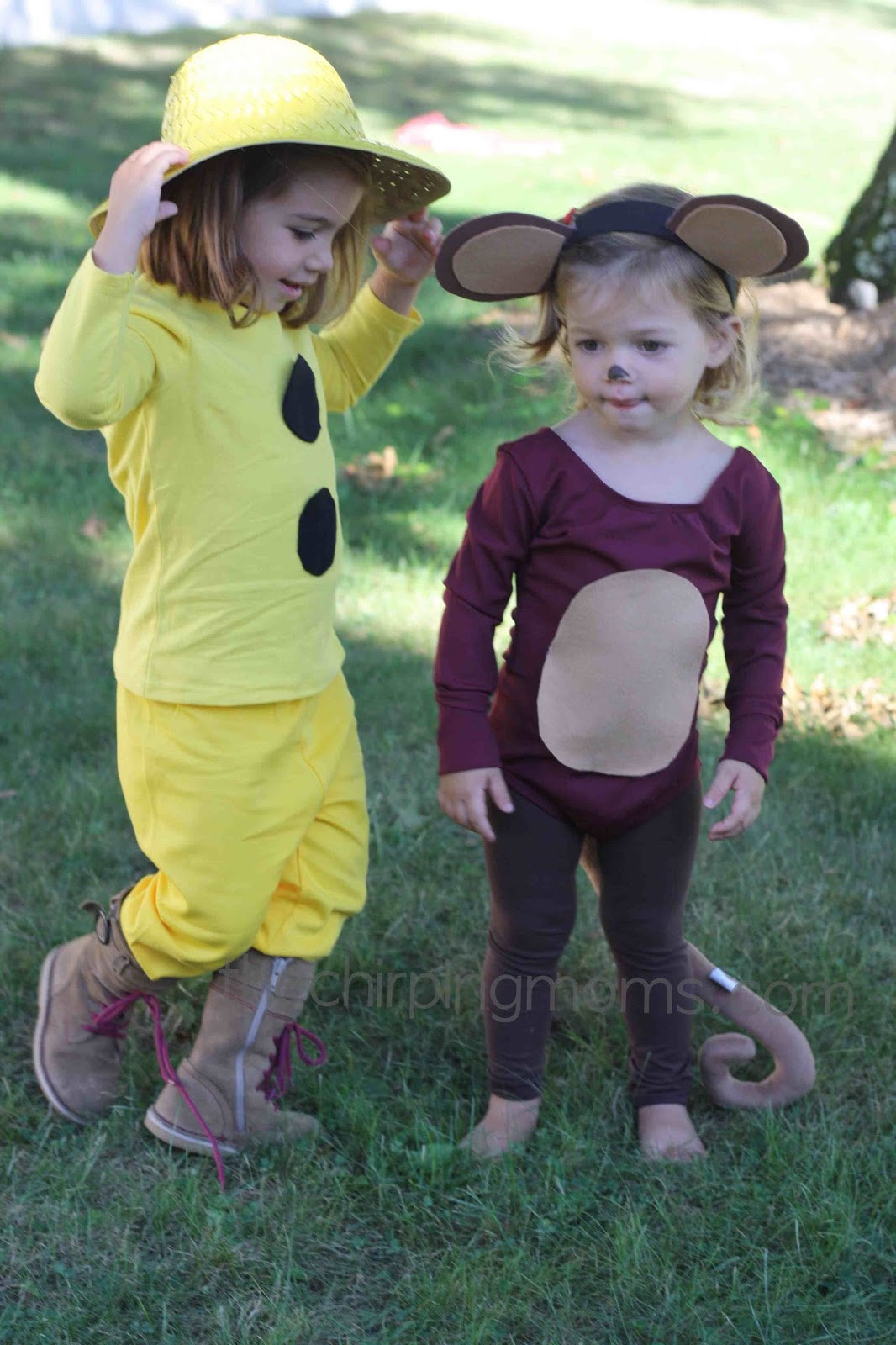 Halloween Diy Costumes  DIY Halloween Costumes Curious George & The Man With The