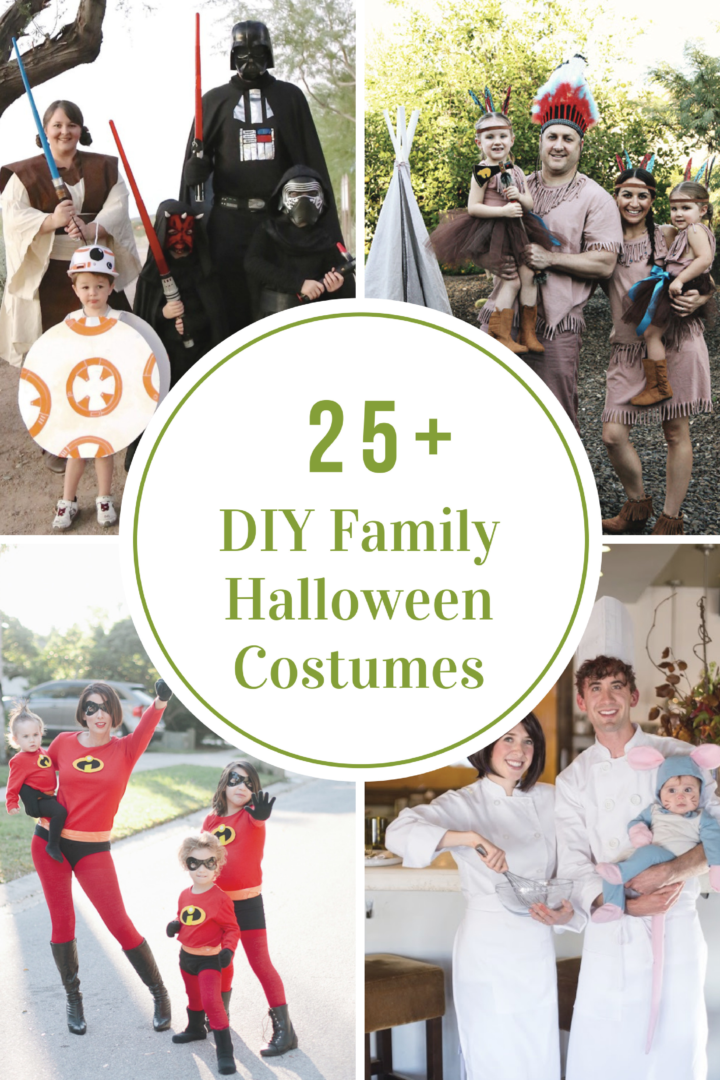 Halloween Diy Costumes  DIY Family Halloween Costume Ideas The Idea Room