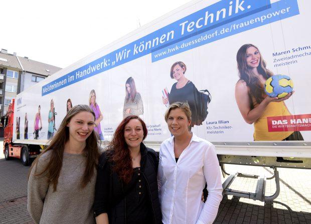 """Handwerk Technik De  Frauen im Handwerk """"Wir können Technik"""""""