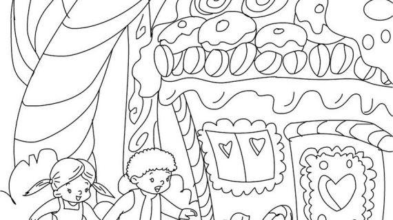 Hänsel Und Gretel Ausmalbilder  15 Ausmalbilder Märchen Hänsel Und Gretel