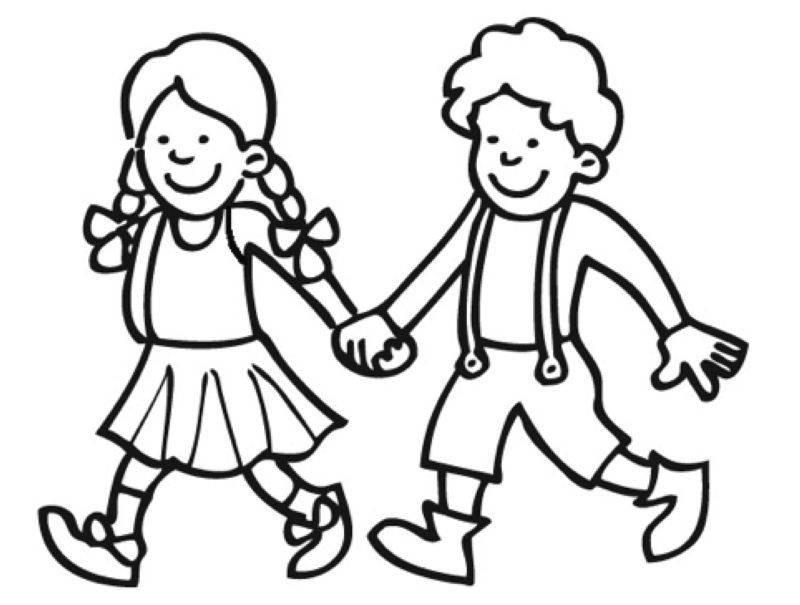 Hänsel Und Gretel Ausmalbilder  Kostenlose Malvorlage Märchen Hänsel und Gretel zum Ausmalen