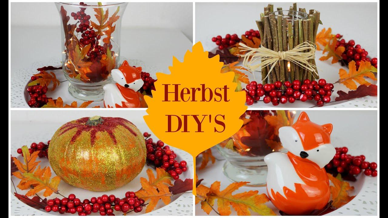 Herbst Diy  DIY HERBSTDEKO