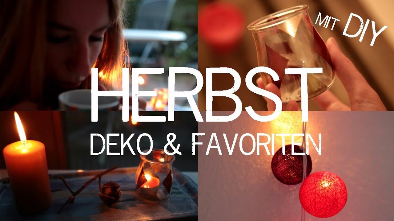 Herbst Diy  HERBST DEKO & FAVORITEN mit DIY Ideen kekulo