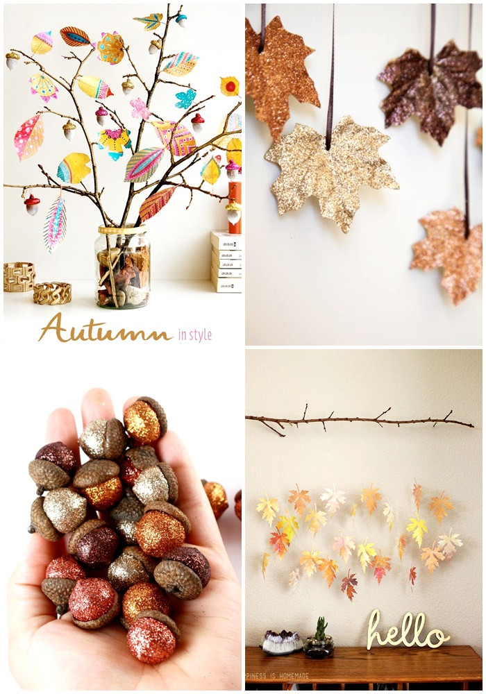 Herbst Diy  pieces of what Herbst DIY Ideen & Patterns