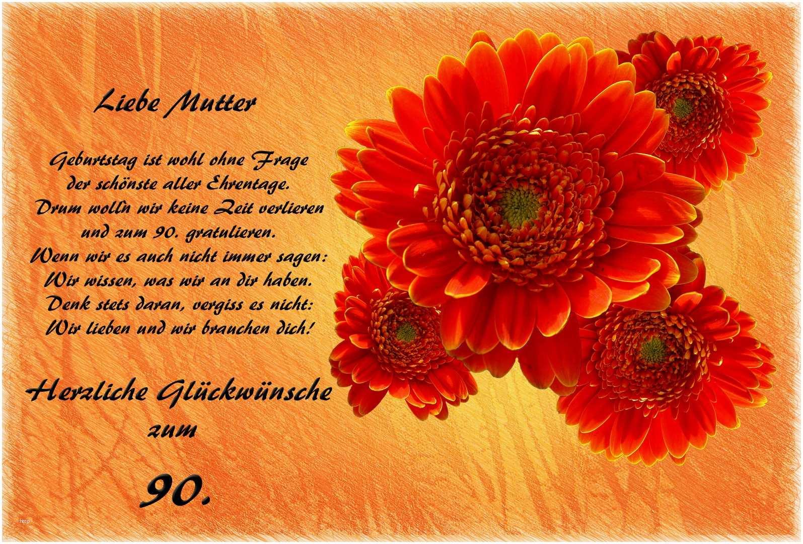 Herzliche Geburtstagswünsche  Herzliche Glückwünsche Zum 90 Geburtstag Hübsch Herzliche
