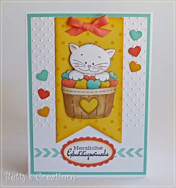 Herzliche Geburtstagswünsche  Pin von Christina Przibylla Best auf Stempeln Karten