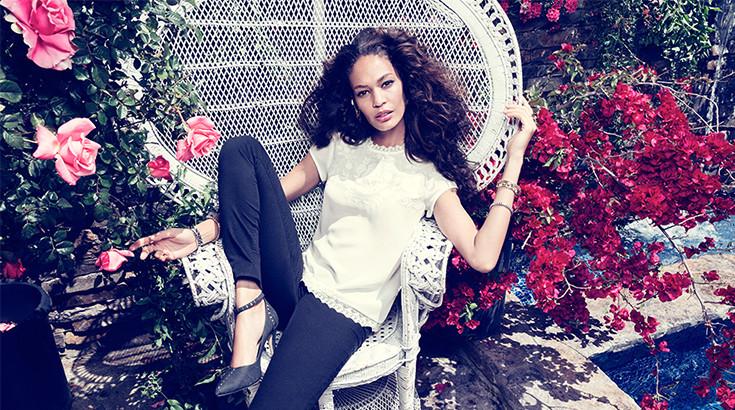 Hm Geschenke Jahrestag  Joan Smalls als Model für H&M