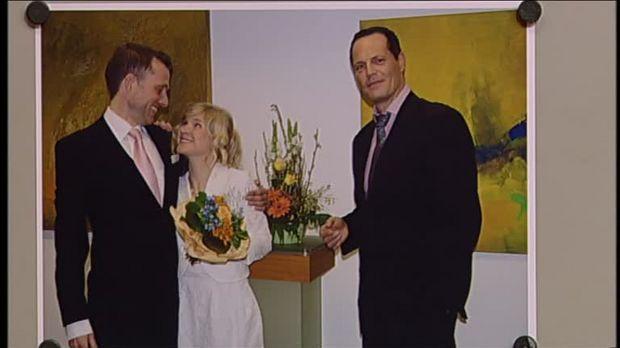 Hochzeit Auf Den Ersten Blick Fake  Richterin Barbara Salesch Video Fake Hochzeit Sat 1