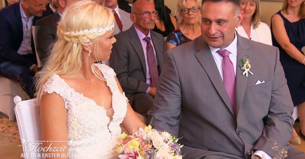"""Hochzeit Auf Den Ersten Blick Nane  """"Hochzeit auf den ersten Blick"""" Braut bereut Ja Wort"""