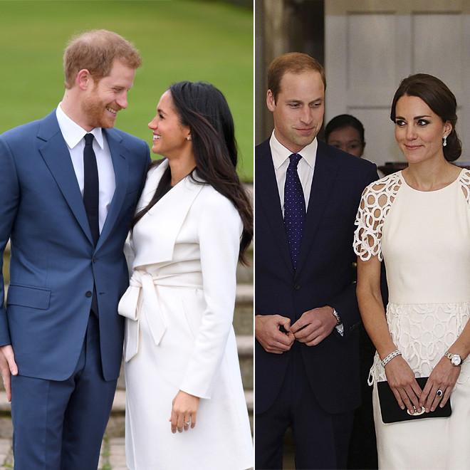 Hochzeit Harry Meghan Kate  Harry & Meghan Darum sind sie entspannter als William & Kate