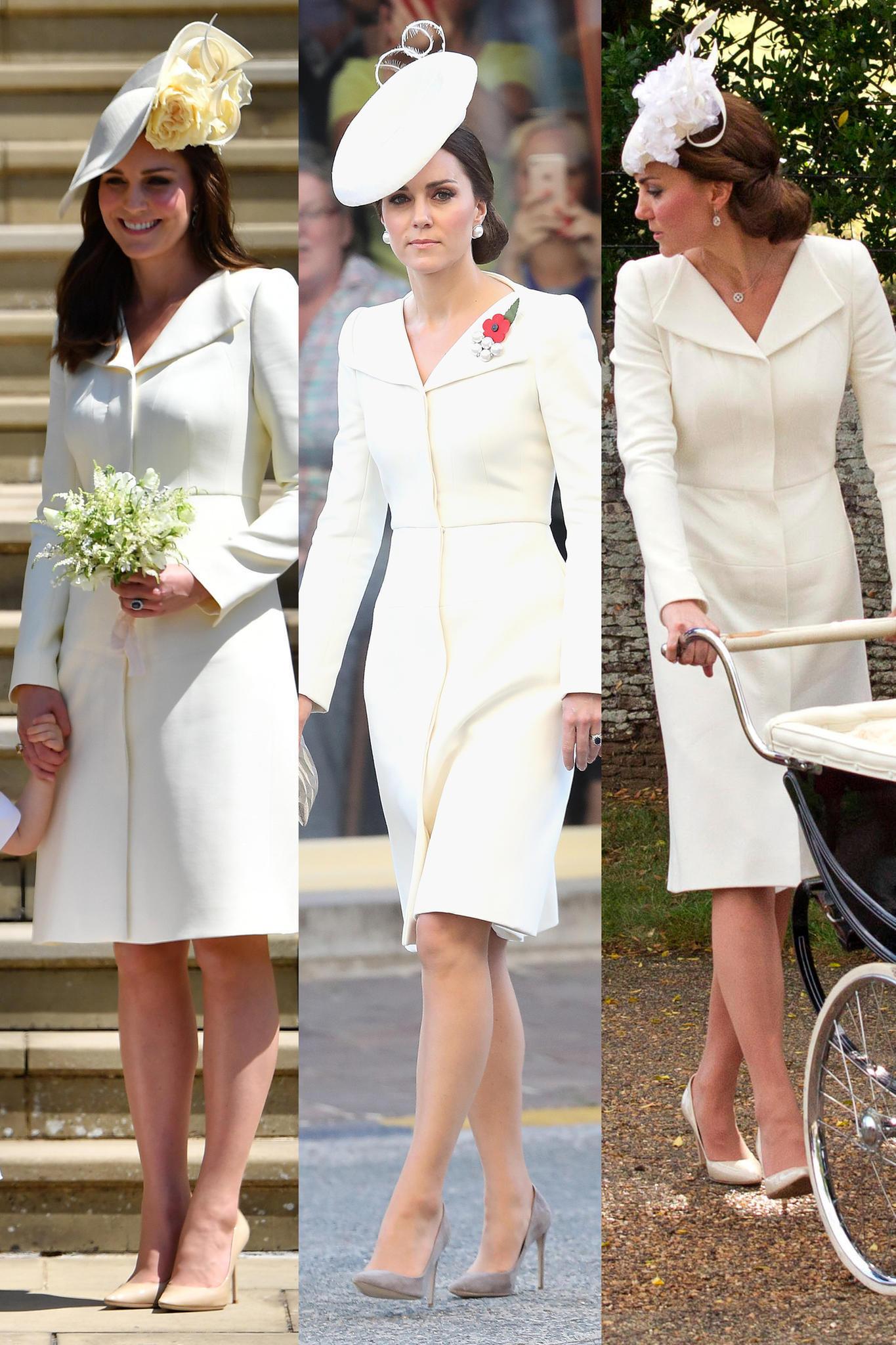 Hochzeit Harry Meghan Kate  Herzogin Catherine Queen Co Im alten Look zur