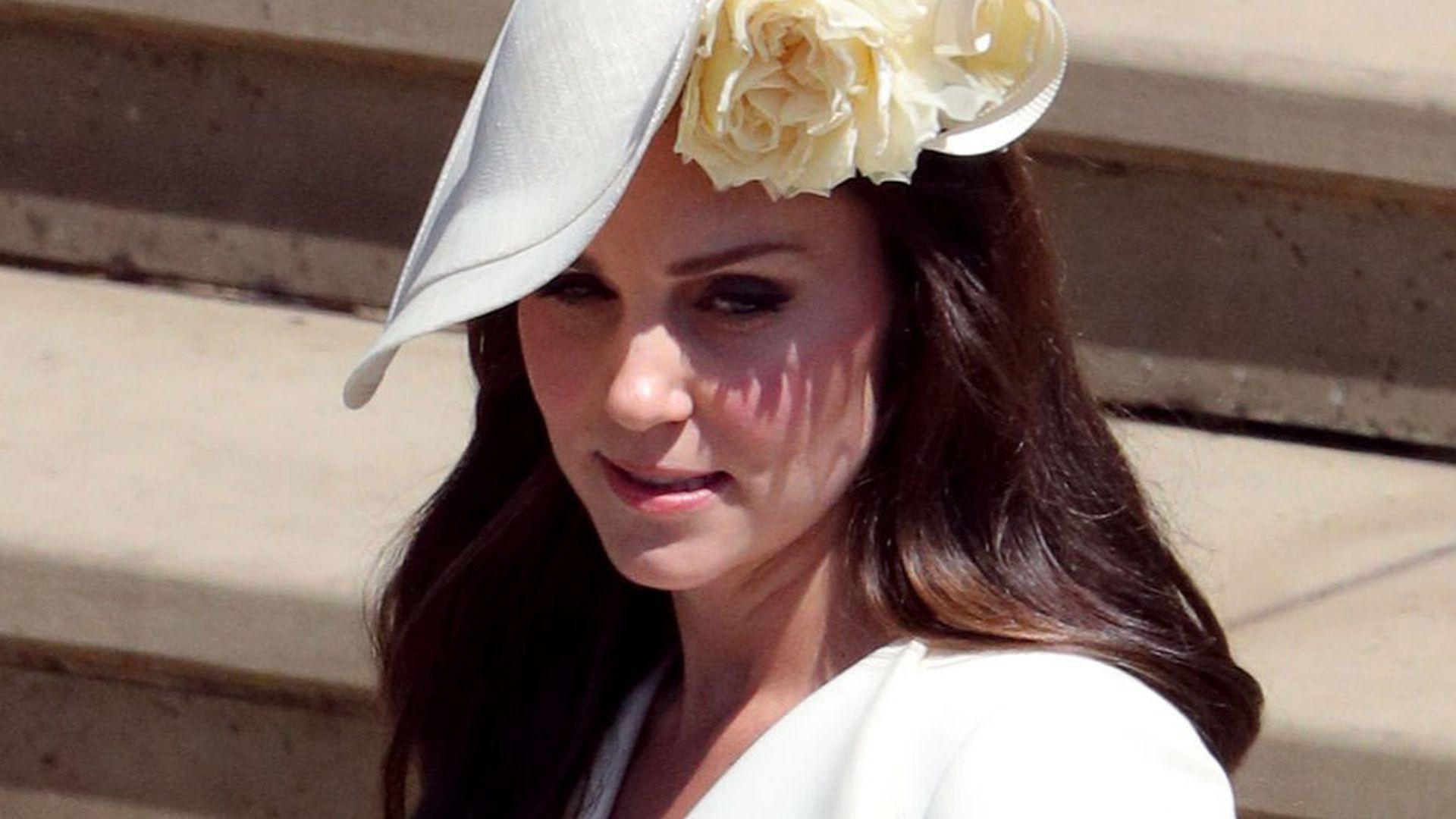 Hochzeit Harry Meghan Kate  Herzogin Kate sauer War Meghans Hochzeit pompöser als