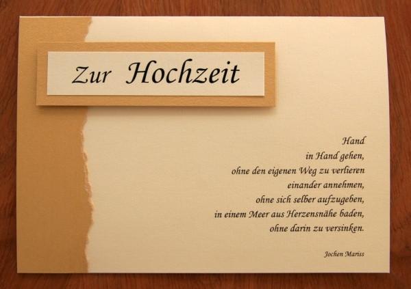 Hochzeit Karte Text  26 innige Glückwünsche zur Hochzeit Die Musik der Worte