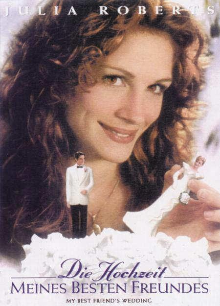 Hochzeit Meines Besten Freundes  plakat Hochzeit meines besten Freundes Die 1997