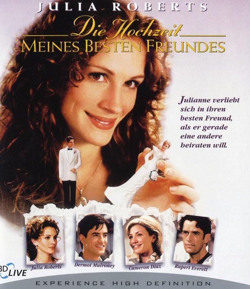 Hochzeit Meines Besten Freundes  Die Hochzeit meines besten Freundes DVD oder Blu ray