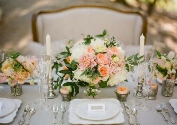 Hochzeit Tisch  25 Ideen für Hochzeit Tischdeko Ihrer Träume