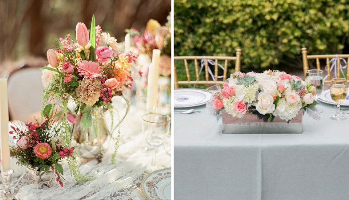 Hochzeit Tisch  tisch blumenschmuck hochzeit – ForAfrica