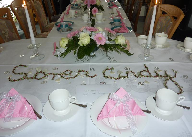 Hochzeit Tisch  Hochzeit