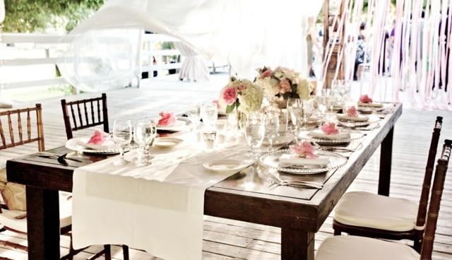Hochzeit Tisch  75 Ideen für Hochzeitsdeko – Romantik pur am Tisch