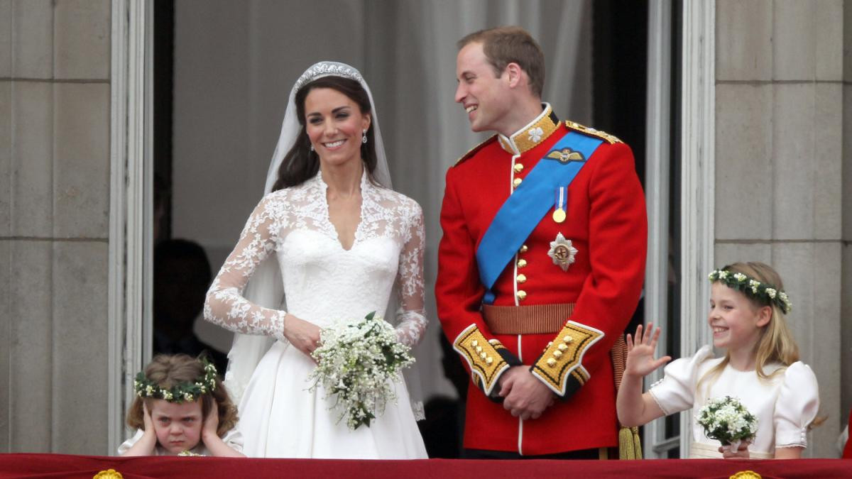 Hochzeit William Und Kate  Royal Wedding Kate und Williams bockiges Blumenkind auf